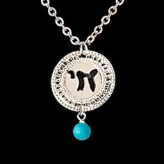 Silver necklace By Kelka Jewelry
