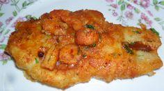 Filé de Pescada Empanada ao Molho de Camarão | Peixes e frutos do mar > Receitas com Camarão | Receitas Gshow