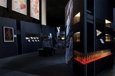 Propaganda exhibition at The British Library by Twelve Studio
