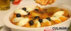 Receita de Bacalhau à Monteiro. Descubra como cozinhar Bacalhau à Monteiro de maneira prática e deliciosa com a Teleculinária!