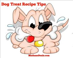 Healthy Dog Treat Recipes Tips http://madamedeals.com/healthy-dog-treat-recipes-tips/ #pets #inspireothers