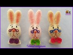Tutorial amigurumi - Conejo / Rabbit (Also pattern English) - YouTube