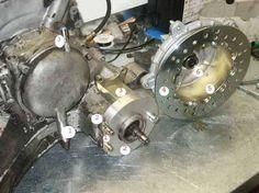 Vespa rear disc brake
