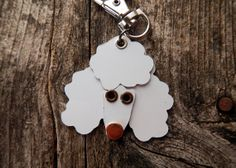 Keychain Key Chain Tag Poodle Style 2 Breed Dog Pet by PoochTags, $15.00