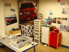 Auto Repair Shop-description and photos of a wonderful emerging study of cars on this blog