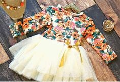 The PERFECT fall holiday dress    Divas on a dime coop, baby girl, toddler girl, little girls, outfits, fashionista, icings, boutique outfit, headbands, leggings, holiday, ruffles, autumn, tutu, floral