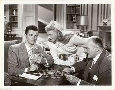 Ginger Rogers, Percy Waram, Cornel Wilde - L'uomo dei miei sogni  1947 http://www.filmtv.it/film/52662/l-uomo-dei-miei-sogni/foto/1606055/