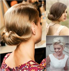 Sam's wedding...7 Glamorous Hairstyles for Bridesmaids 2013