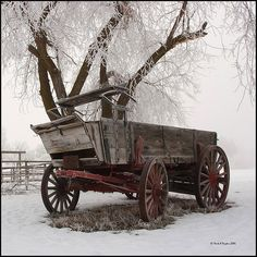 Old wooden wagon*