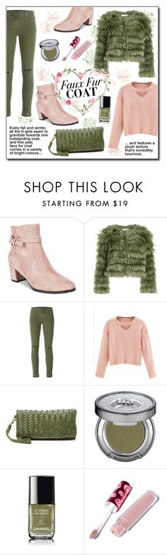 """Faux Fur Coats"" by drinouchou ❤ liked on Polyvore featuring Impo, Alice + Olivia, J Brand, WithChic, Urban Expressions, Urban Decay, Chanel, Lime Crime and fauxfurcoats"