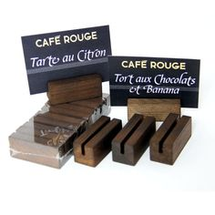 High Quality Solid Wooden Information Block. UK Manufactured & In Stock for Next Day Delivery. Menu Holders, Display Block, Restaurant Interior Design, Menu Cards, Deli, Chalkboard, Banana, Chocolate, Prints