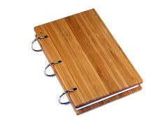 We've developed a beautiful, practical and refillable notebook made from sustainably produced bamboo.