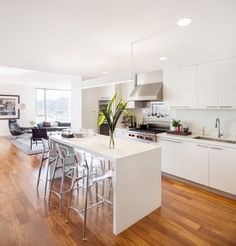 atwater place contemporary kitchen