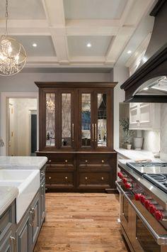 Transitional Kitchen Renovation - It's a refrigerator!!!
