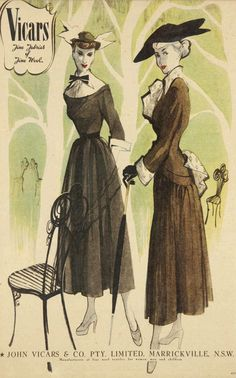 I like vintage stuff. 1940s Fashion, 50 Fashion, Fashion Tips For Women, Plus Size Fashion, Vintage Fashion, Womens Fashion, Fashion Design, Fashion Hacks, 1940s Vintage Dresses