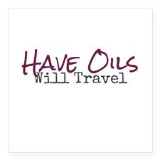 Have Oils Will Travel Sticker for