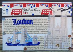 London City, Around The Worlds, Awesome, Handmade Gifts, Cards, Etsy, Kid Craft Gifts, Craft Gifts, Maps
