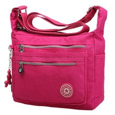 GET $50 NOW | Join RoseGal: Get YOUR $50 NOW!http://www.rosegal.com/shoulder-bags/simple-zippers-and-nylon-design-shoulder-bag-for-women-630576.html?seid=2275071rg630576