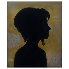 Human Silhouette, Artist, Painting, Silhouette