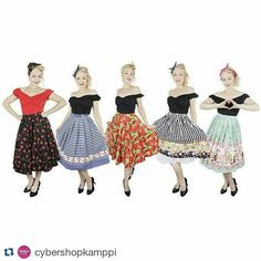 #Repost @cybershopkamppi with @repostapp ・・・ Uusia upeita kellohameita saapunut Miss Elinorilta! Koot S-4XL!  Uutuutena myös Little Miss Elinor lapsille - tulkaahan tutustumaan! #misselinor #pinup #fifties #skirt #newarrivals #cybershop #cybershopkuopio #matkus #kellohame #uutuus