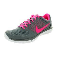 24ddea064e36 Nike Women s Flex 2015 Cool  Pink Pow White Running Shoe