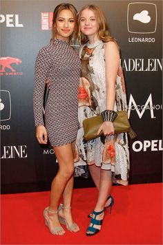 Gizem Emre & Jella Haase. At New Faces Awards FILM 2015.