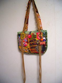 Bolso bohemio Vintage Patchwork Tote