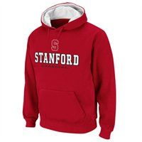 The cold weather will be no match for your sizzling Stanford team spirit when you challenge it with this Sentinel pullover hoodie sweatshirt! With features like a tackle twill school name and logo over an embroidered team name on the chest and contrast team-colored hood lining, this pullover will make sure you stay warm during those chilly days as you cheer your Cardinal to victory. $34.95