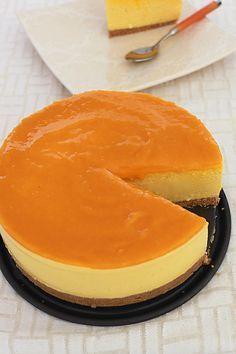 perfect dessert with Agar Agar - Mango Cheesecake