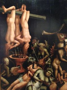 Hell, unknown artist, 1510s.