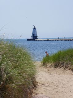 I used to spend summers at this beach in Ludington, Michigan (Lake Michigan) Ludington Michigan, Lake Michigan, The Places Youll Go, Places To See, Michigan Travel, Vacation Places, Great Lakes, Beautiful Places, Around The Worlds