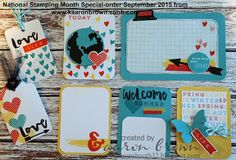 Booth #32: National Stamping Month Special- Pictuer My Life Cards #ctmhHelloLife