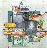 A Project by marilou64 from our Scrapbooking Gallery originally submitted 02/13/12 at 07:47 AM