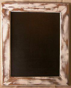 Upcycled Shabby Chic | upcycled shabby primitive chic wooden chalkboard