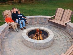 57 inspiring diy fire pit plans & ideas to make s'mores with your ... - Patio Fire Pit Ideas