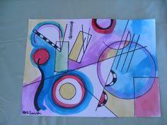 Kandinsky Art Lesson