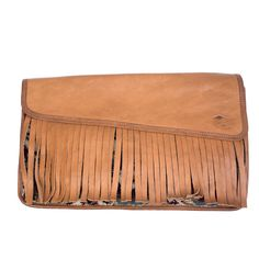 Vintage 70s Tan Fringed Clutch – THE WAY WE WORE