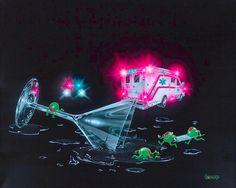 Michael Godard Party Foul s N and All Other Michael Godard Prints | eBay