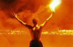 Resultado de imagem para french football fans flares
