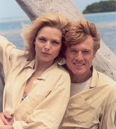 * Robert Redford and Michelle Pfeiffer * ~ 'Up Close and Personal' (1996)