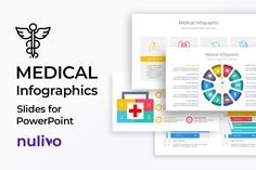 Medical Infographics Slides are clean and newest diagrams you can use it in your presentation professionally if you are giving a presentation on any health-related topic Whether it is a learning presentation of medical students, doctor's discussion. Infographic Powerpoint, Infographics, Medical Students, Color Themes, Save Yourself, Presentation, Diagram, Templates, Learning