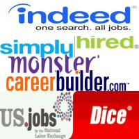 what are the top job search sites