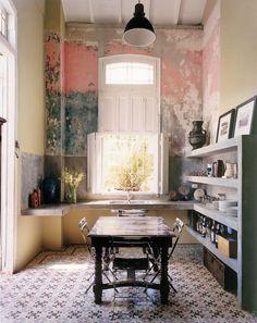 Cuban Interior Design and a Recipe for Cuba Libre House Design, Decor, Interior Design, House Interior, Furniture, Home, Interior, Interior Walls, Home Decor