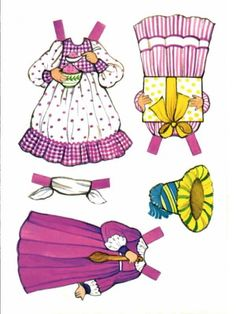 clothes2* 1500 free paper dolls at artist Arielle Gabriel's International Paper Doll Society also her new memoir The Goddess of Mercy & the Dept of Miracles playing with paper dolls in Montreal *
