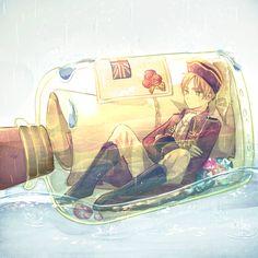 Hetalia (ヘタリア) - England/The United Kingdom (イギリス) Ereri, Eren Aot, Anime Guys, Manga Anime, Anime Art, Manga Girl, Tsundere, Hetalia Characters, Anime Characters