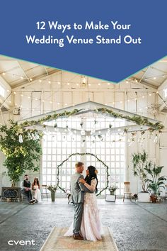 No matter what, a wedding venue can always try new things to boost profits and stand out amongst the competition. From visiting your website to booking your space, the way you interact with customers — both couples and planners alike — makes all the difference between the average wedding venue experience and a truly great one. Explore these 12 ideas to learn how to make your wedding venue stand out and maximize profits in exciting new ways. Event Planning Tips, Fun Events, Exciting News, Event Styling, How To Plan, How To Make, Planners, Competition, Wedding Venues
