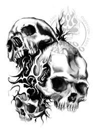 skull usmc tattoo - Google Search