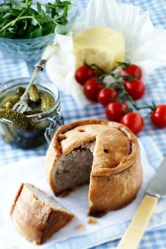PorkPie Camembert Cheese, Food Photography, Cooking Photography