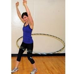 25 Most Deceiving Exercises (They Tone More than You Think!)  HULA HOOP-not just for hippie girls.  low impact cardio works your entire core, ever wondered how those hippie girls all had such small waistlines? You can order weighted hulas online for added resistance. And try hula-ing in both directions for equal workouts. livefit healthy-diet sexy-abs workout-motivation