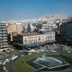 1969 ~ Omonia square, Athens Greece Pictures, Rare Pictures, Greece History, Kai, Old Greek, Greek Culture, As Time Goes By, History Of Photography, Athens Greece